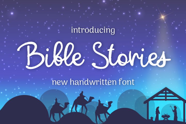 Bible Stories example