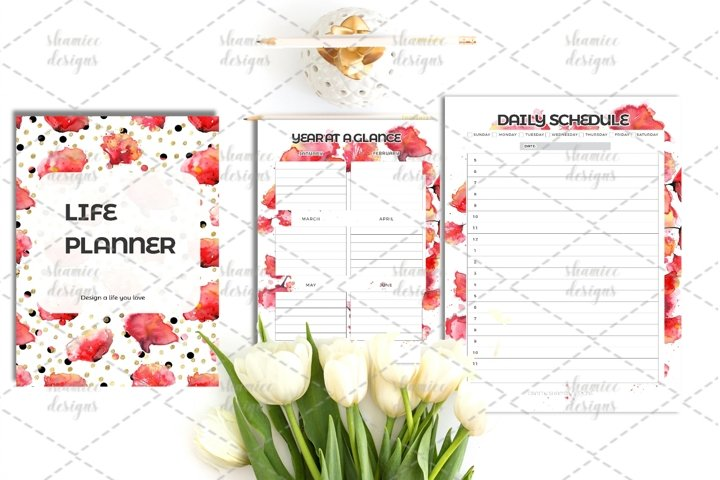 Peony Life Planner A4