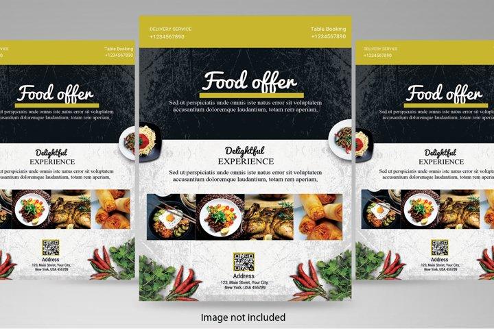Healthy Food Flyer Templates