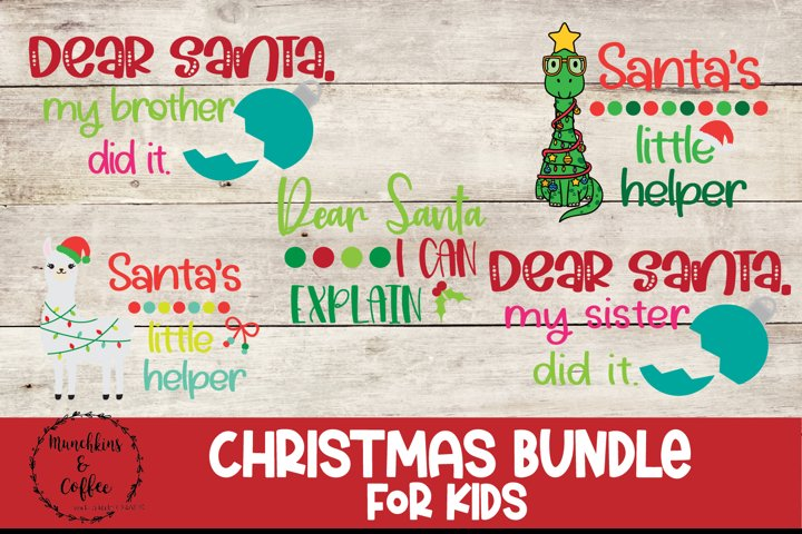 Kids Christmas Shirt Bundle