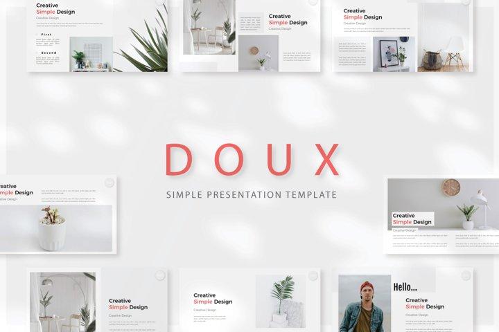 Doux Keynote Template