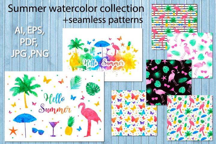 Hello summer bright rainbow collection