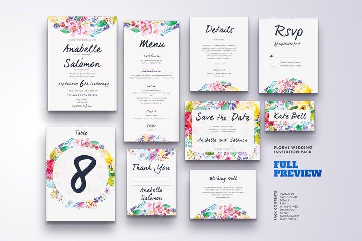 Wedding Invitation Suite Vol.4 / Save Date / Bride