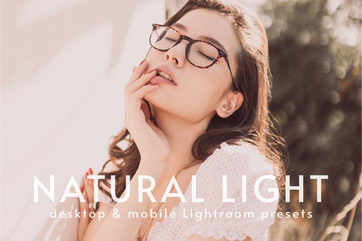 Natural Light | Desktop & Mobile Lightroom Presets