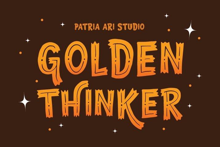 Golden Thinker