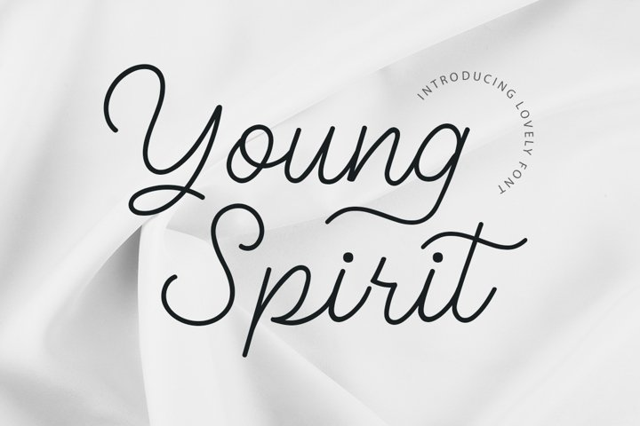 Young Spirit Handwriting Script