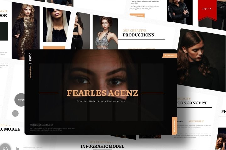 Fearles Agenz | Powerpoint Template