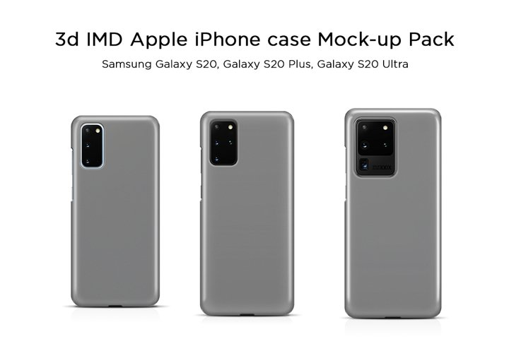 Samsung Galaxy Phone Case Mock-ups Pack
