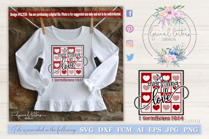 Do Everything In Love SVG DXF FCM LL217A