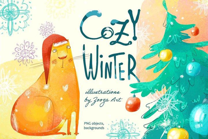 Cozy Winter illustrations