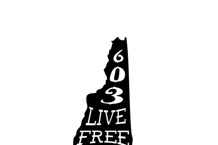 New Hampshire Silhouette - Live Free or Die State