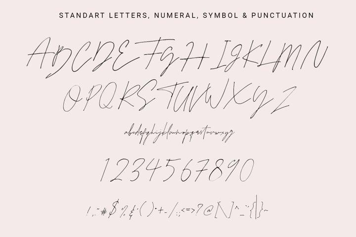 Juliette - Stylish Handwritten Signature Font example 9