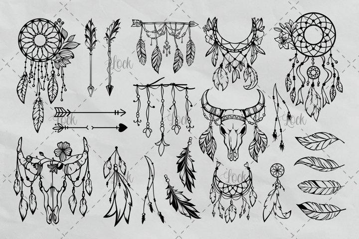 Bohemian Tribal Bundle