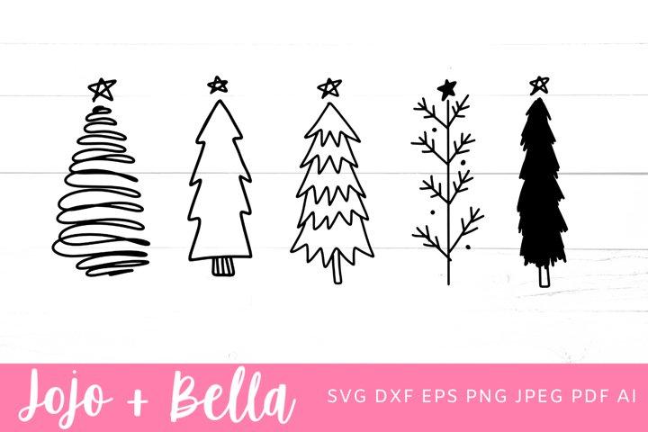 Christmas Tree Svg Bundle | Christmas Svg