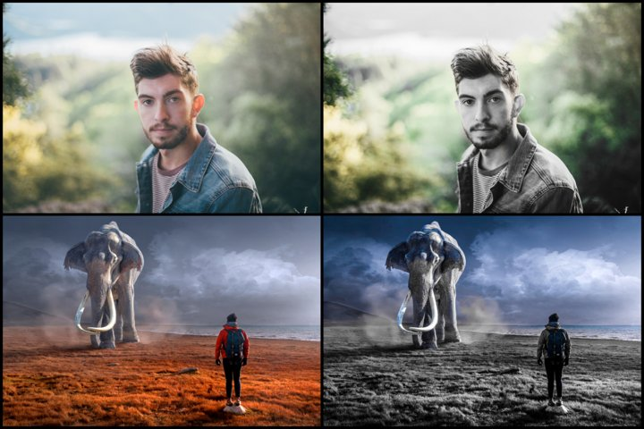 14 Selected Color Effect Lightroom Presets example 1