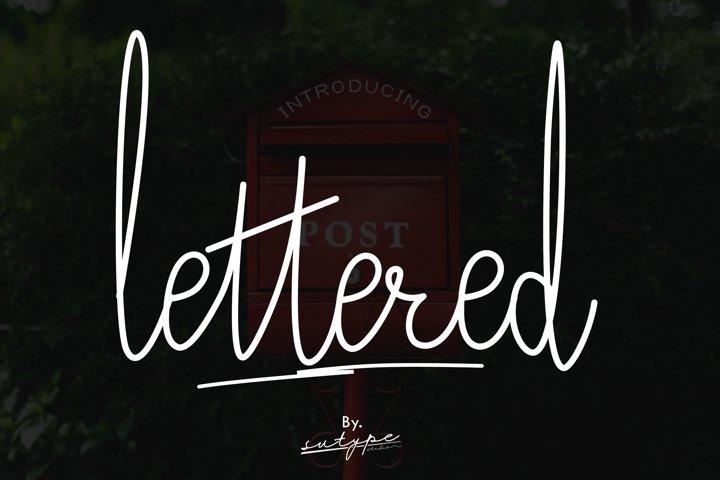 Lettered Signature Script