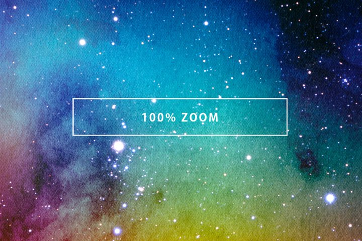 Space Watercolor Backgrounds - Free Design of The Week Design0