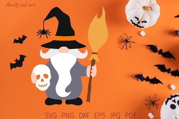 Gnome Svg Files Halloween Gnomes Gnome Png 877283 Cut Files Design Bundles