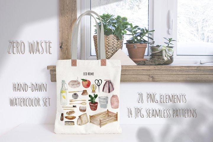 Zero waste ECO home watercolor set.