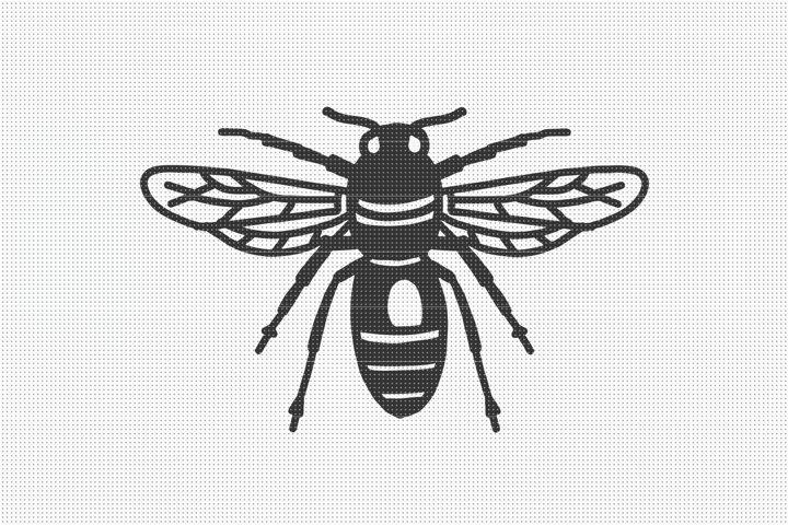 Honey Bee SVG Files, SVG Cut Files