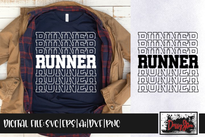 Runner SVG DXF Ai EPS PNG