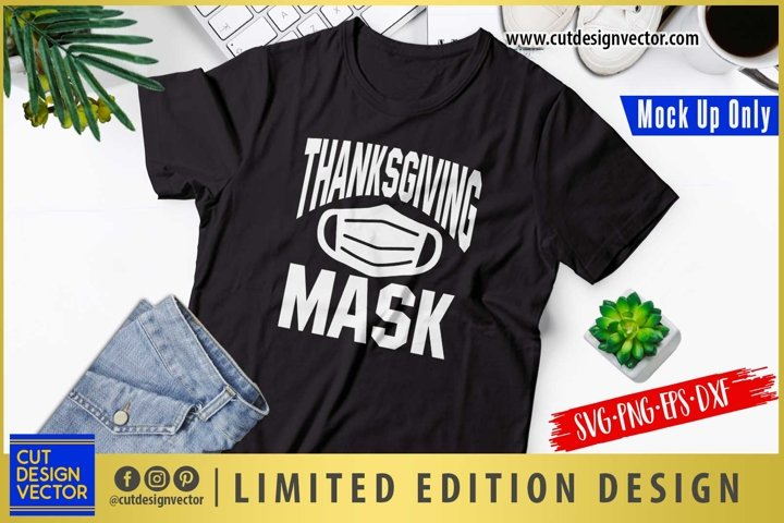 Thanksgiving Mask SVG, Thanksgiving SVG