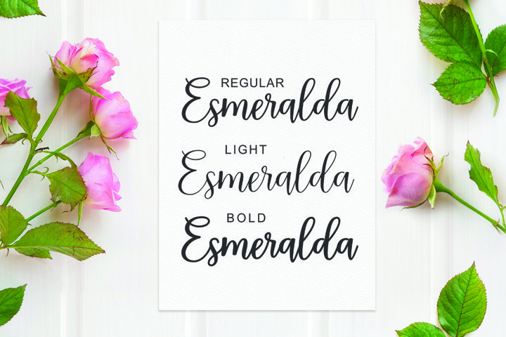 Esmeralda Script - Free Font Of The Week Design0