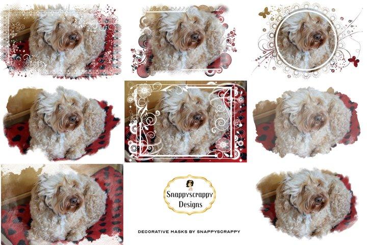 Decorative Photoshop Masks Set / Clipping Masks