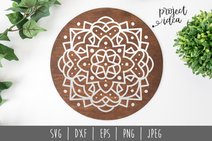 Mandala Mini Bundle Set of 6- SVG example 8