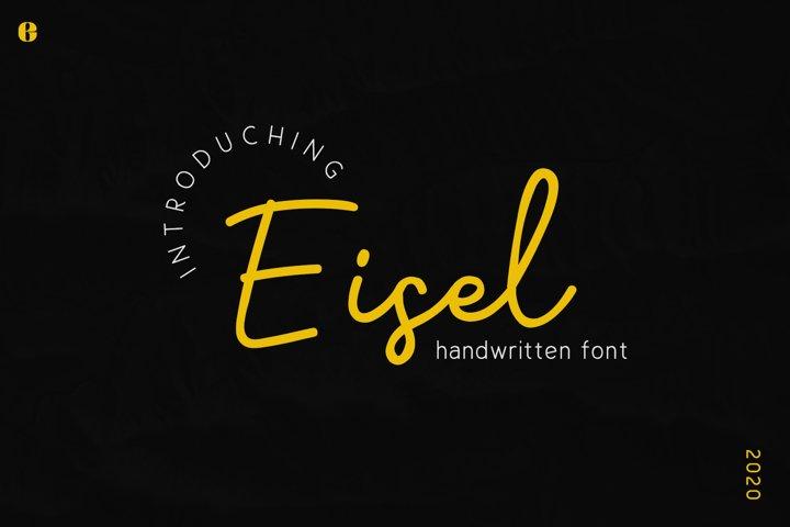 Eisel | Handwritten Font