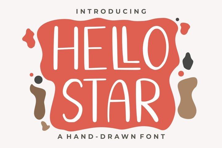 Hello Star | EXTRA SHAPES