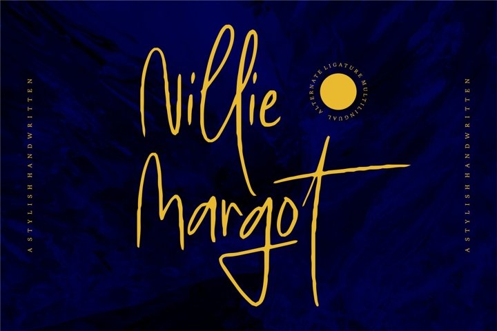 Nillie Margot - Stylish Handwritten