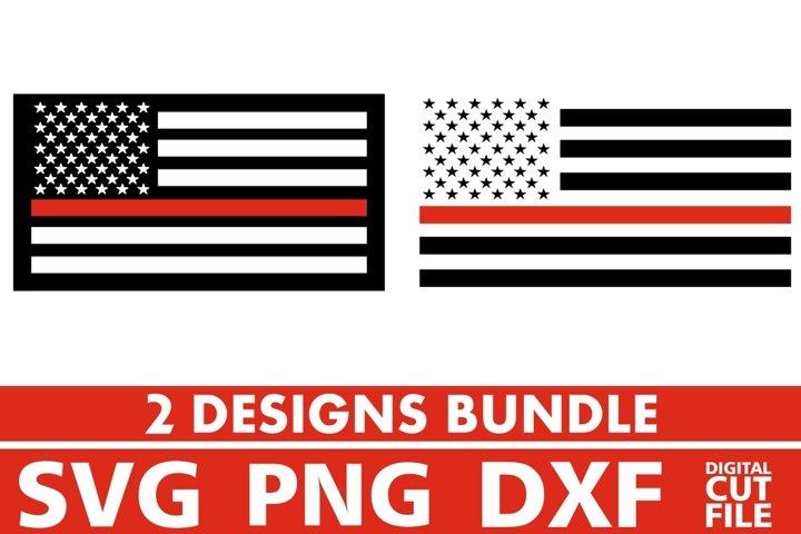 2x American Flag Designs Bundle svg, 4th of July, Patriotic