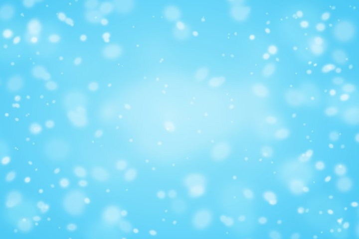 Christmas background with snow and snowflakes