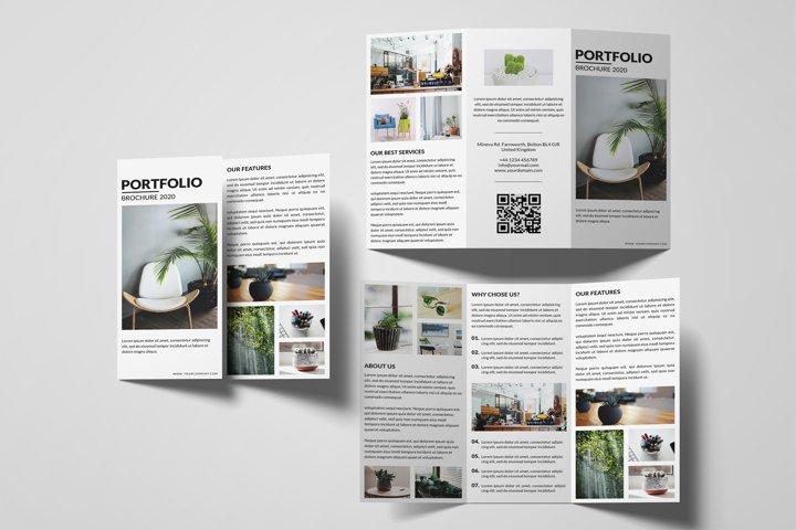Multipurpose Trifold Brochure Template | Portfolio Brochure