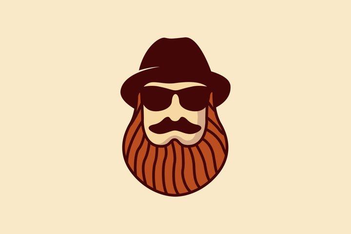 Man Beard Vector