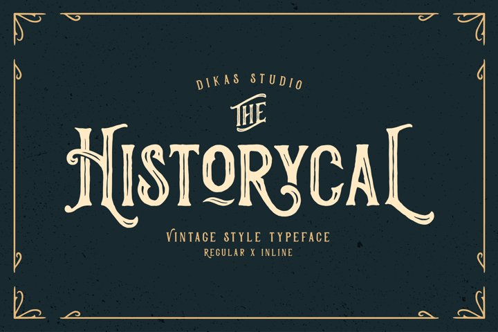Historycal - 2 Font Styles