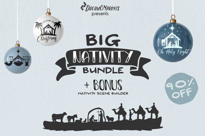 Nativity SVG Bundle | Christmas Nativity Bundle SVG