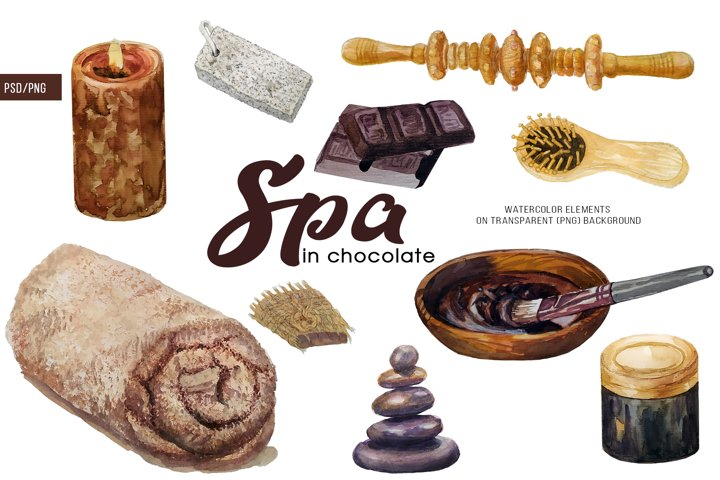 SPA in chocolate