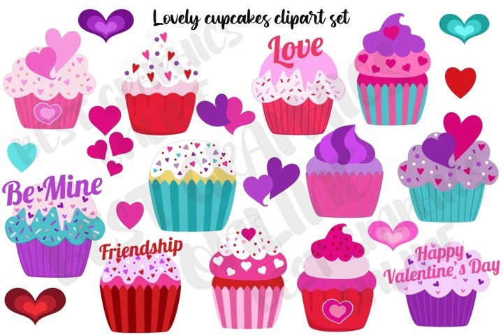 Cupcakes clipart, Cupcake clipart graphic Muffin Sweets
