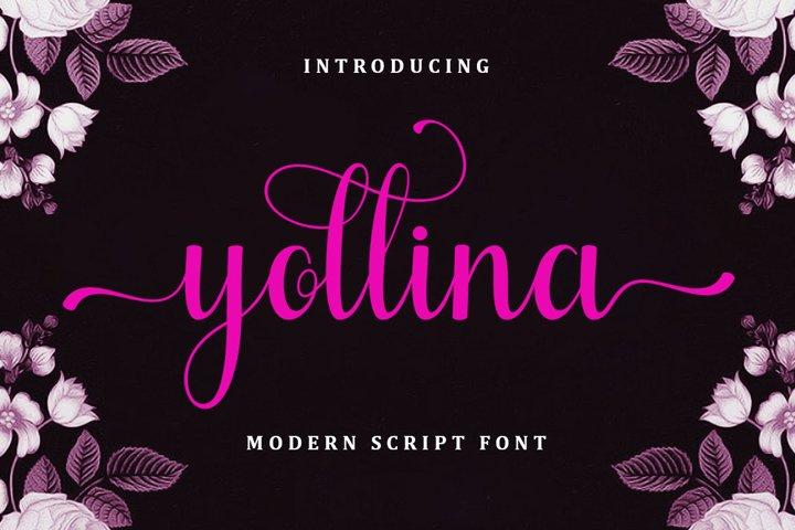 Yollina - Modern Script
