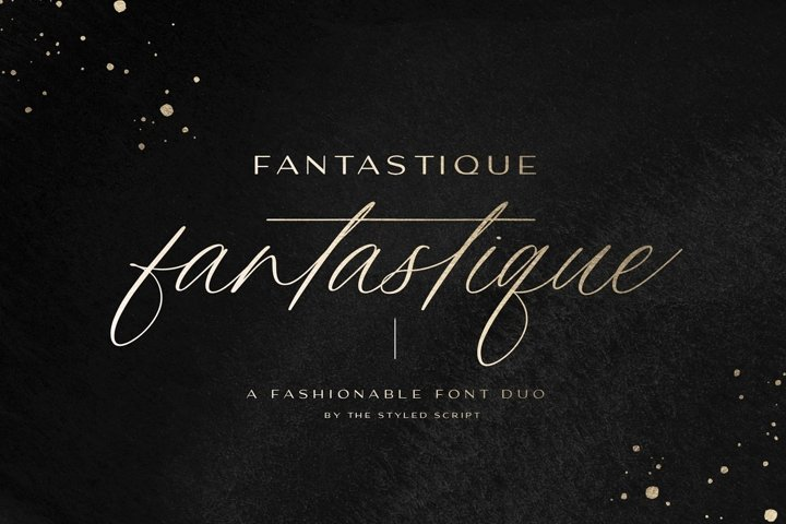 Fantastique Font Duo