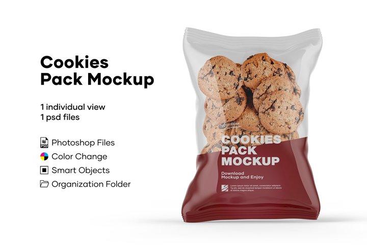 Cookies Pack Mockup