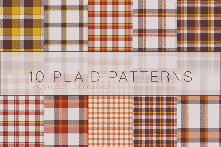 10 Plaid Patterns