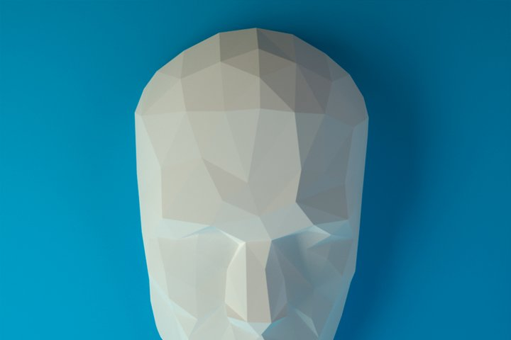 Human Face, Artist Sculpture, Papercraft Face, Human Papercraft, Face Dummy, Human Face Layout, Wall Human Face, Human Head, Papercraft Head