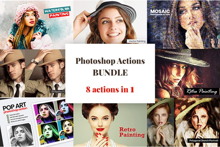 Photoshop Actions Bundle v2