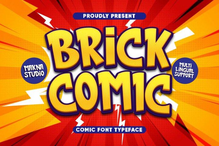 Brick Comic