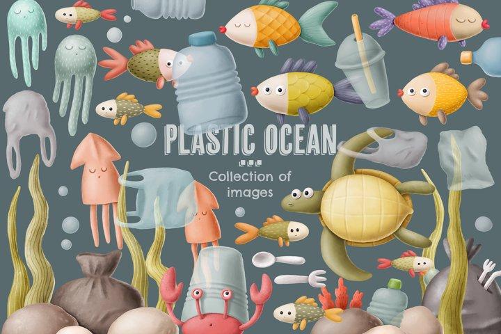 Plastic ocean..