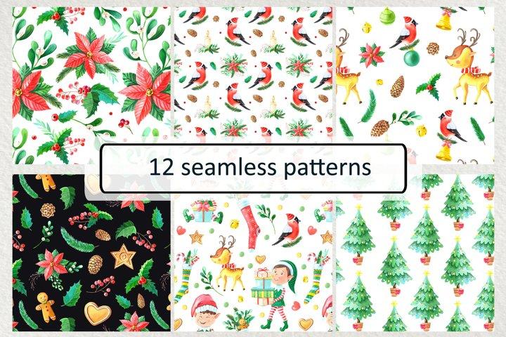 12 Christmas patterns