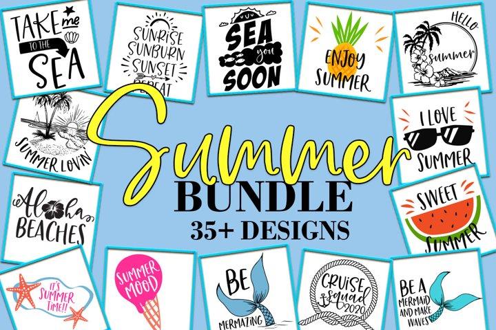Summer Bundle SVG